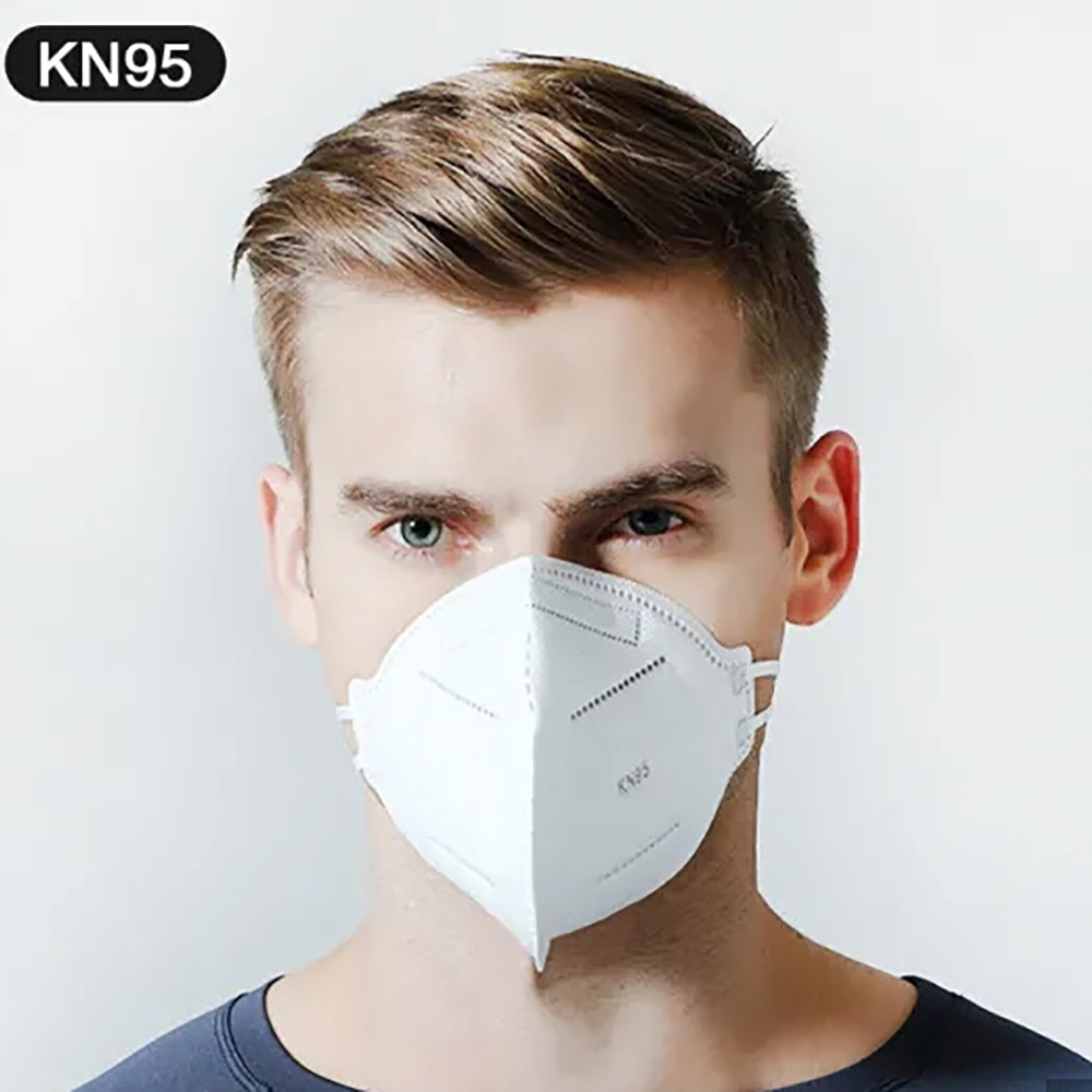 KN95 Face Mask Surgical Disposable Mouth Cover Flu Mask Anti-Dust ...