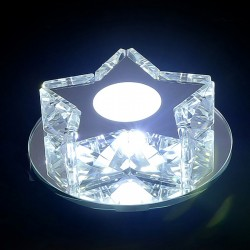 Crystal Spot Light Cubic Clear