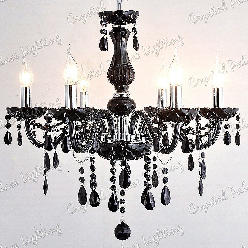6 arms black crystal chandelier black crystal chandelier 8 arms mozeypictures Gallery